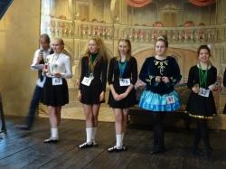 Luce 2è, Charlotte 3è en Trophy Competition